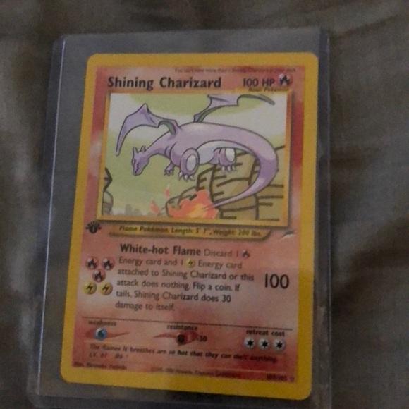 Pokemon Other 1st Edition Shining Charizard Holo Card Poshmark